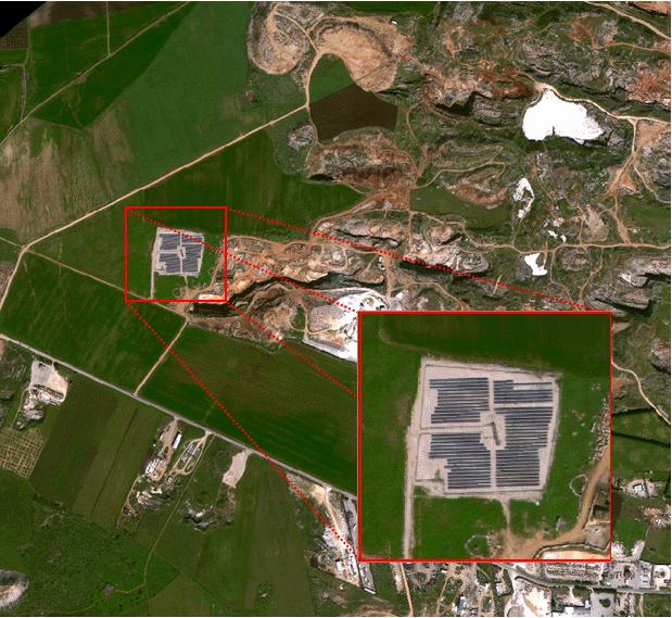 Un impianto fotovoltaico nel Comune di Apricena